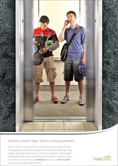 Advertising photography for Grey Advertising's Translink campaign
