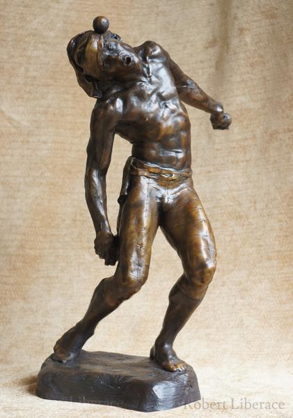 Robert Liberace, juggler, terra-cotta