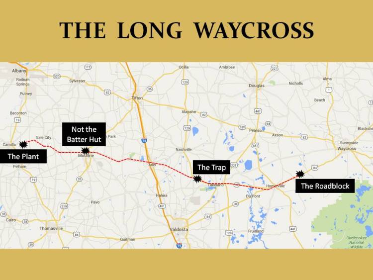 Waycross Map 1005