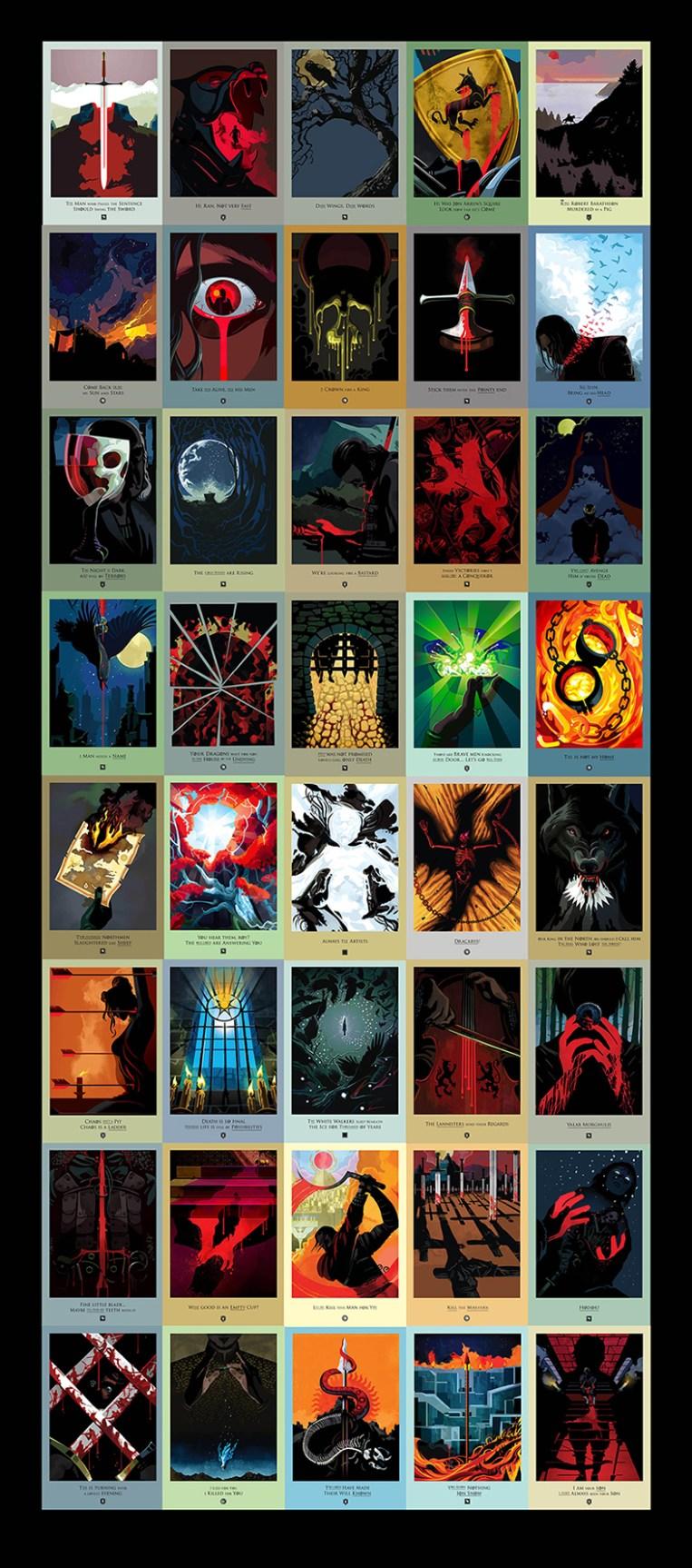 Beautiful Deaths: Game of Thrones Seasons 1-4