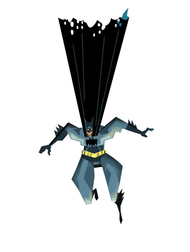Batman dropping in