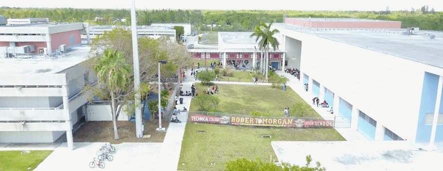 School Aerial Image