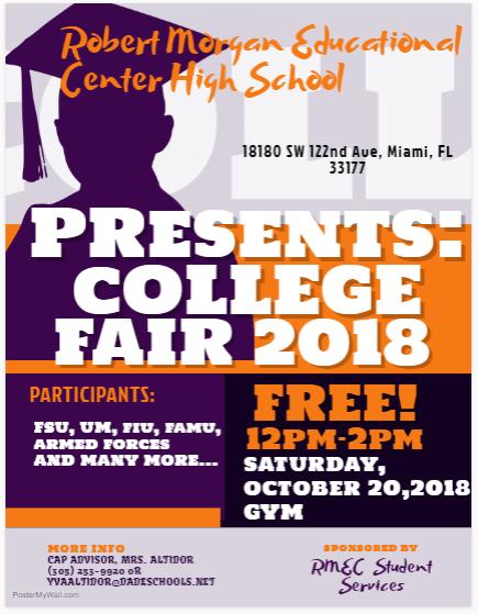 College Fair 2018 Flyer