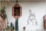 Seminario Courtyard Wall