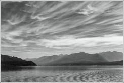 Kootenay Lake Morning Sky Mono