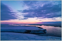 Nipissing Sunset Purple