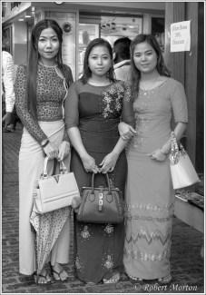 Yangon Shoppers