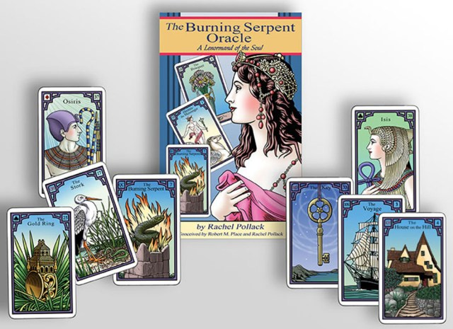 72dpi Burning Serpent Cover  and Deck