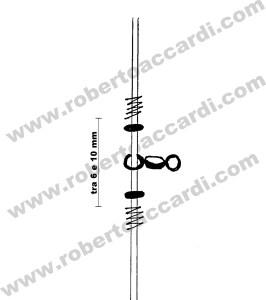 come dimensionare un bracciolo snodo con girella