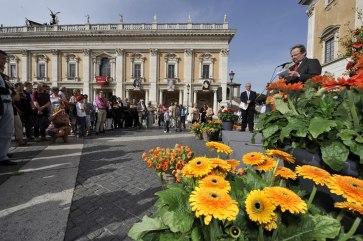 Roma, Festa floreale in onore del nuovo Re d'Olanda (17)