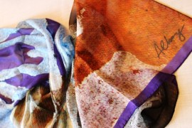 © Roberto Alborghetti – LaceR-Actions – Limited-Edition Silk Scarves