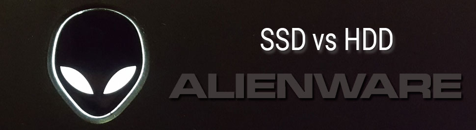SSD vs HDD en laptop Alienware M14