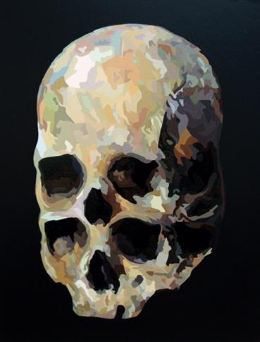 Pop Metafísico pintura plannage Hommage-a-Cezanne2