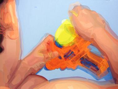 Pop Metafísico pintura Las peores perspectivas gaf-feI
