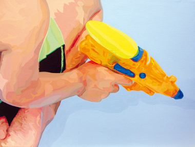 Pop Metafísico pintura Las peores perspectivas gaf-fe II