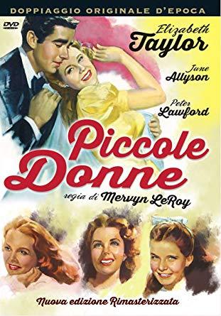locandina Piccole Donne con Liz Taylor