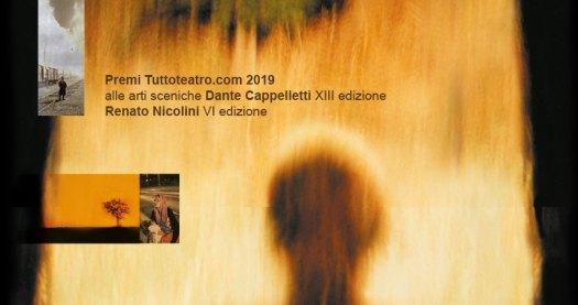la locandina 2019 del Premio Tuttoteatro.com