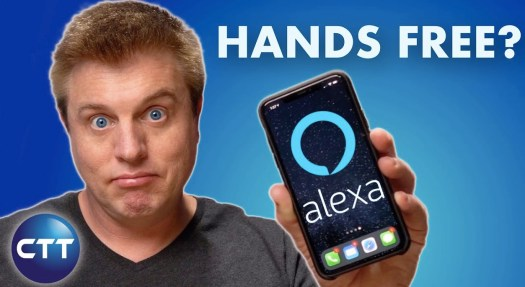 Alexa, hands free?