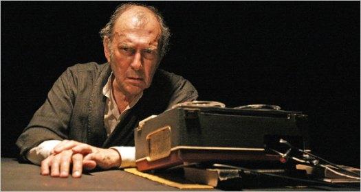 Harold Pinter in Krapp's Last Tape