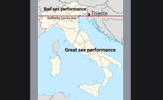 Raffaella Carrà's Line