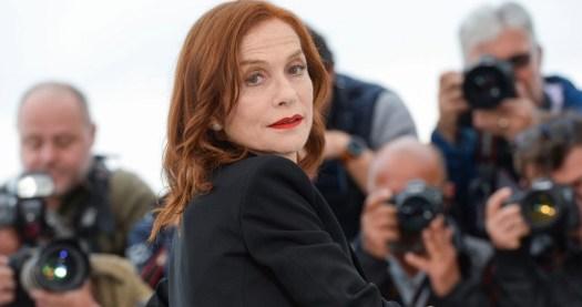 Isabelle Huppert a Cannes