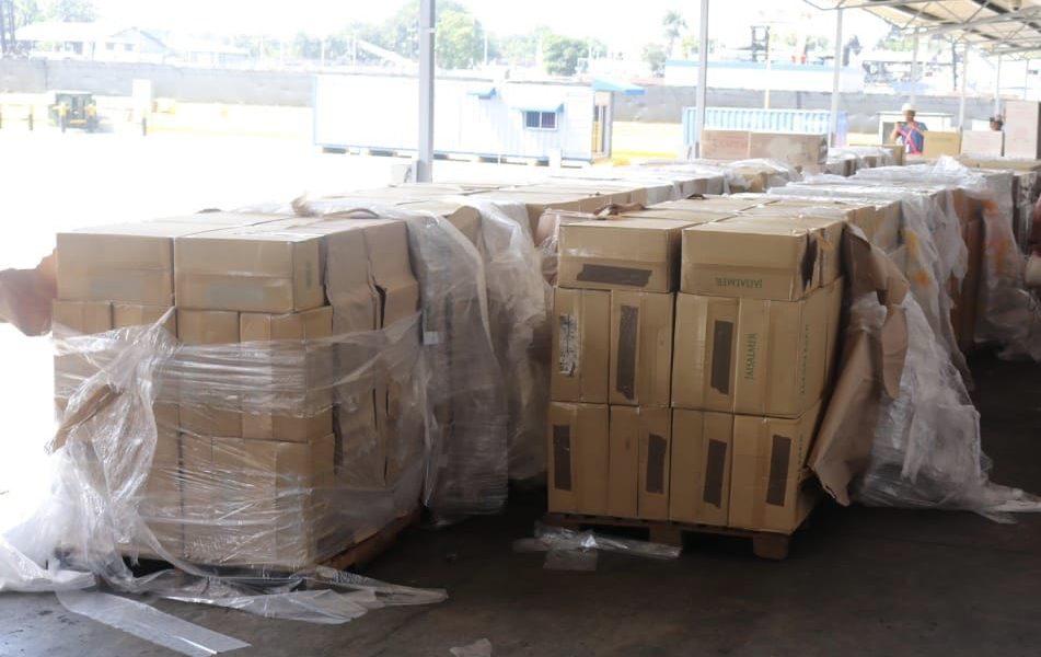 Incautan más de 7 millones de cigarrillos producto de contrabando en Haina