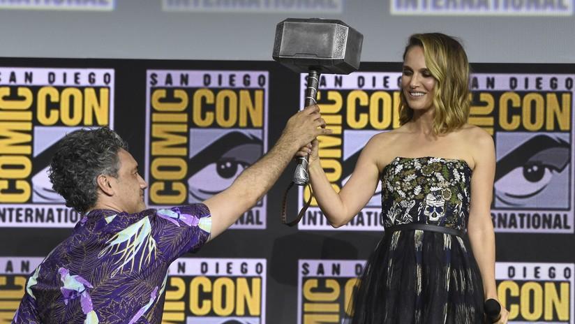 Natalie Portman será la primera 'Thor' mujer en la próxima película de Marvel