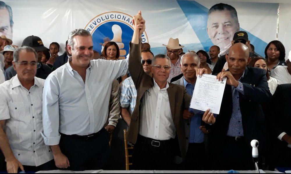 Manuel Jiménez oficializa su precandidatura a la Alcaldía de Santo Domingo Este