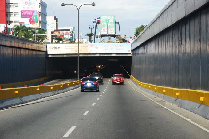 MOPC anuncia cierre de túneles y elevados por mantenimiento