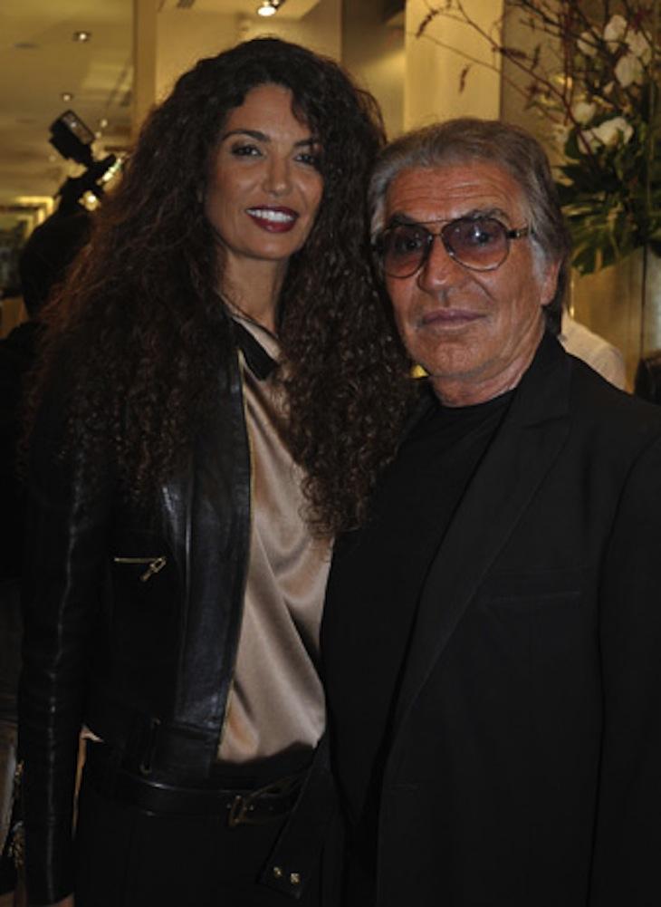 Afef e Roberto Cavalli