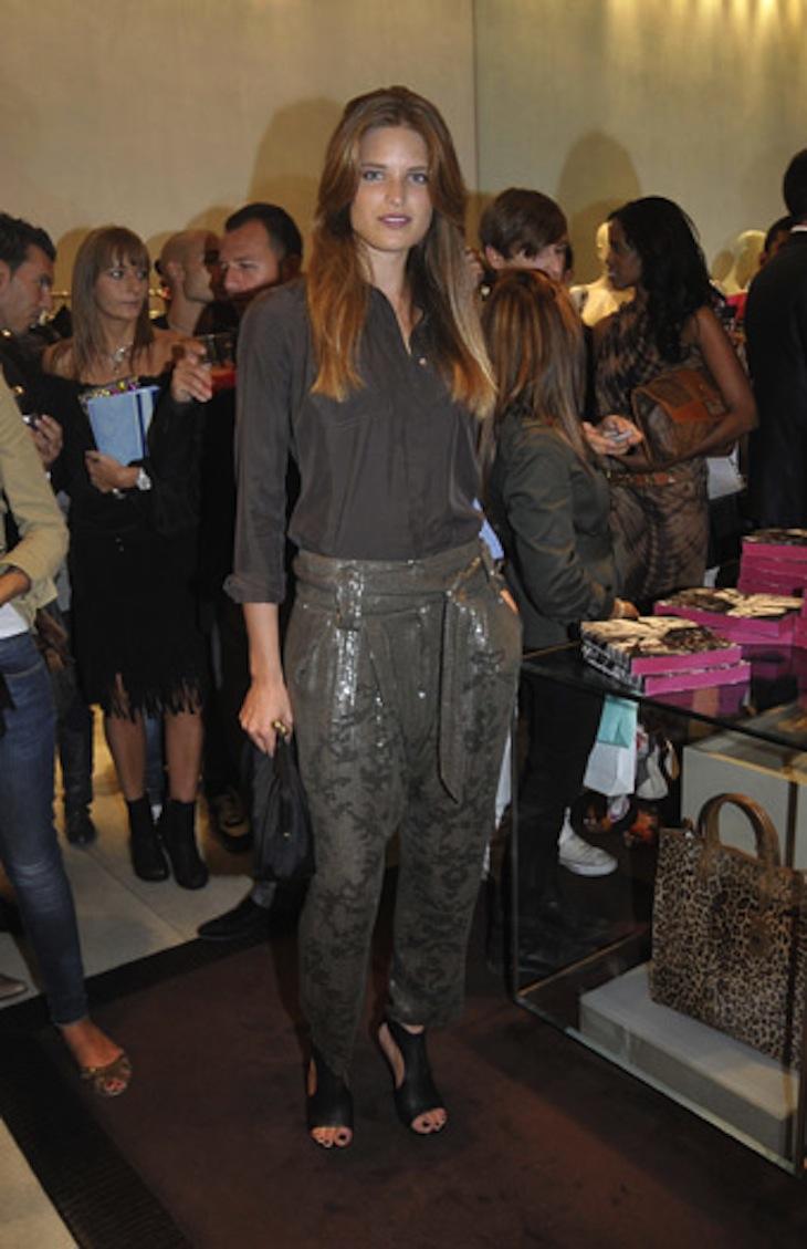 Alessia Piovan in Roberto Cavalli at VFNO