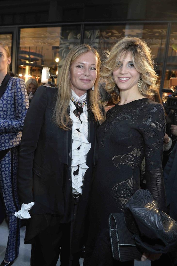 Eva Cavalli and Nicoletta Romanoff