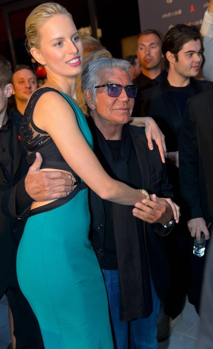 Karolina Kurkova and Roberto Cavalli