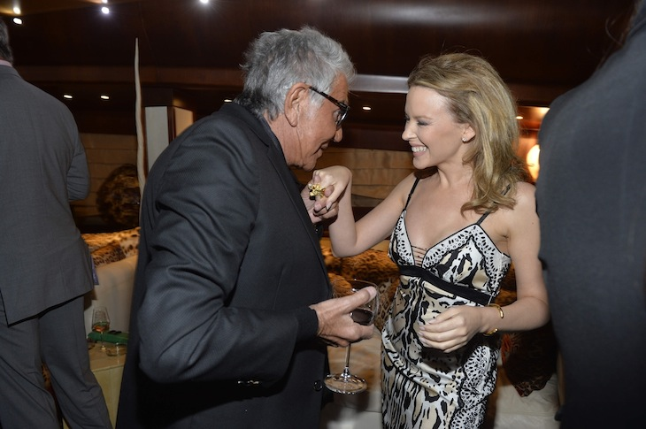 Roberto Cavalli Kylie Minogue
