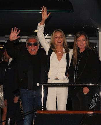 Roberto Cavalli Sharon Stone Eva Cavalli