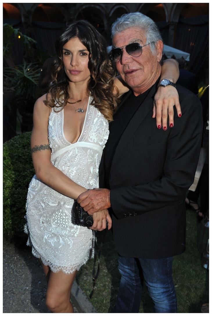 Elisabetta Canalis in Roberto Cavalli and Roberto Cavalli