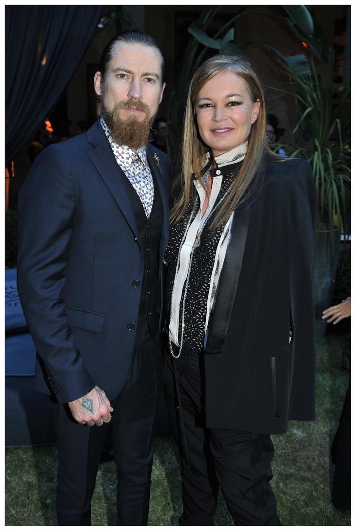 Justin O'Shea and Eva Cavalli
