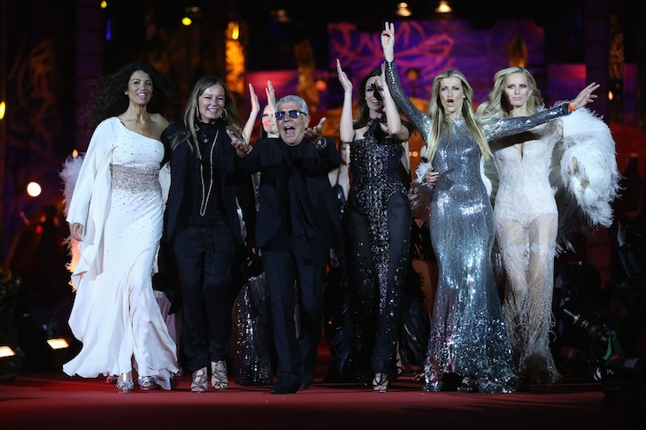 Roberto Cavalli Fashion Show - Life Ball 2013