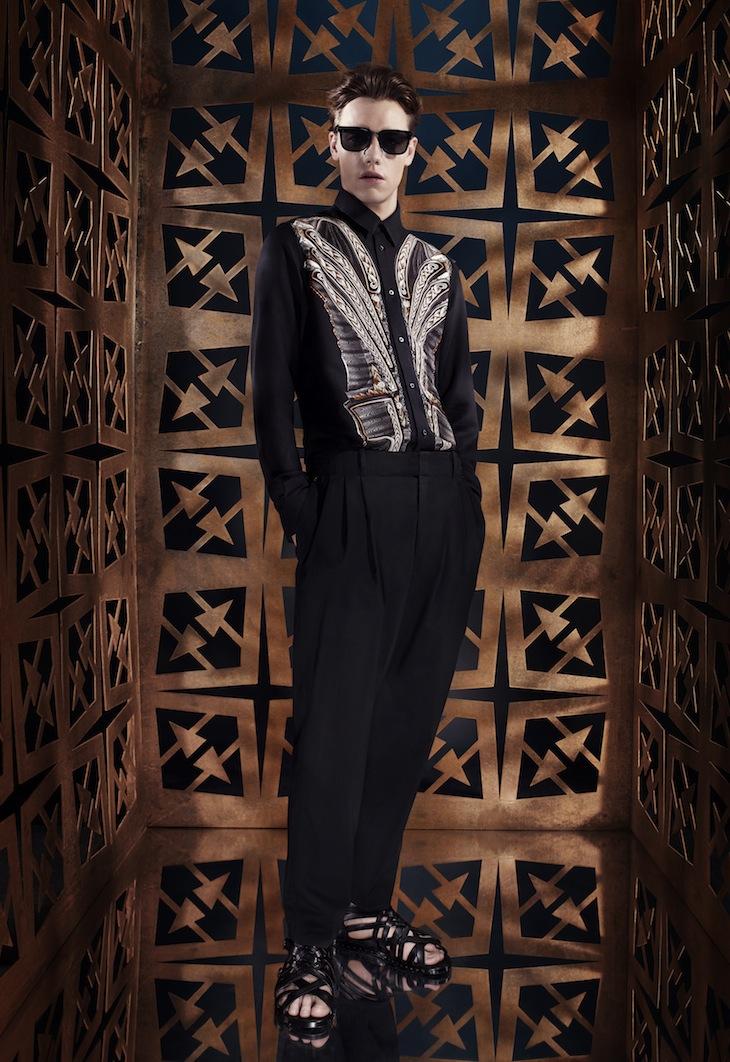 Roberto Cavalli Menswear SS14 #4