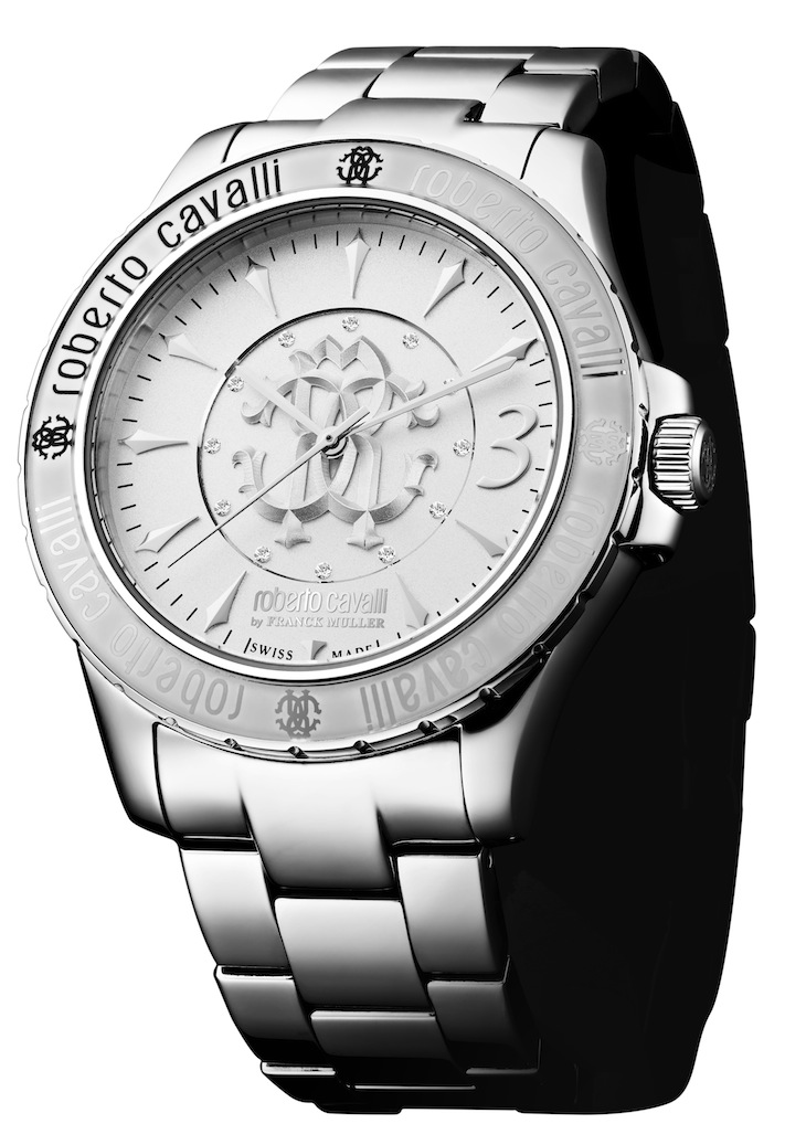 Roberto Cavalli by Franck Muller - Signature Collection - Steel Bracelet