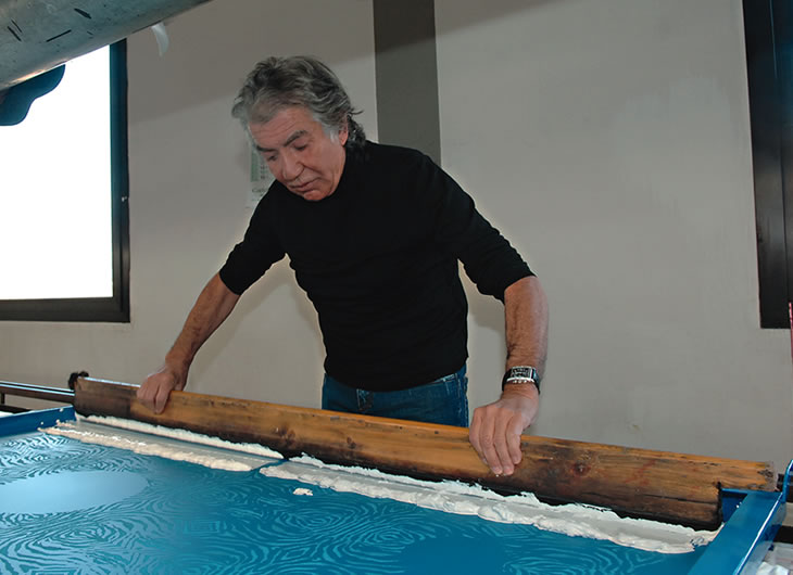 Roberto Cavalli - Printing on fabric