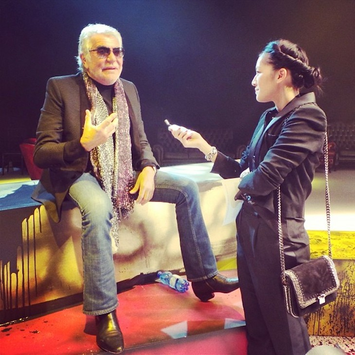 Roberto Cavalli Interview