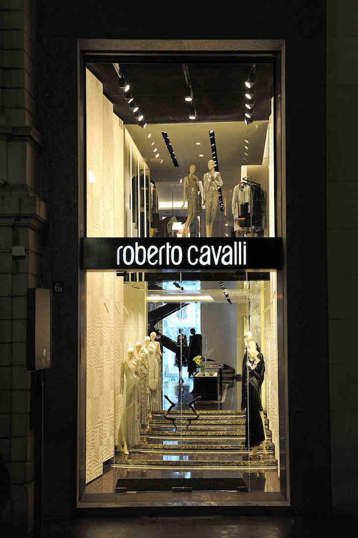 Roberto Cavalli Montenapoleone Boutique (1)