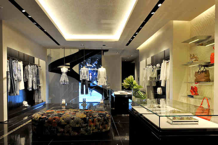 Roberto Cavalli Montenapoleone Boutique (4)