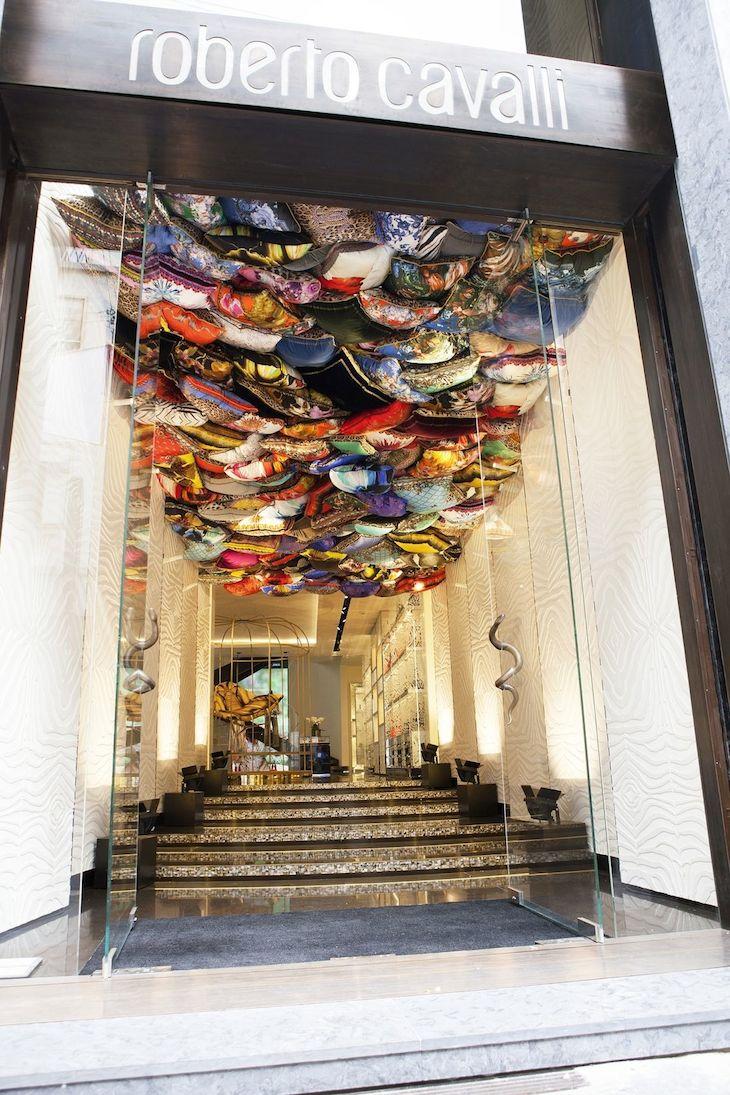 Roberto Cavalli Boutique entrance