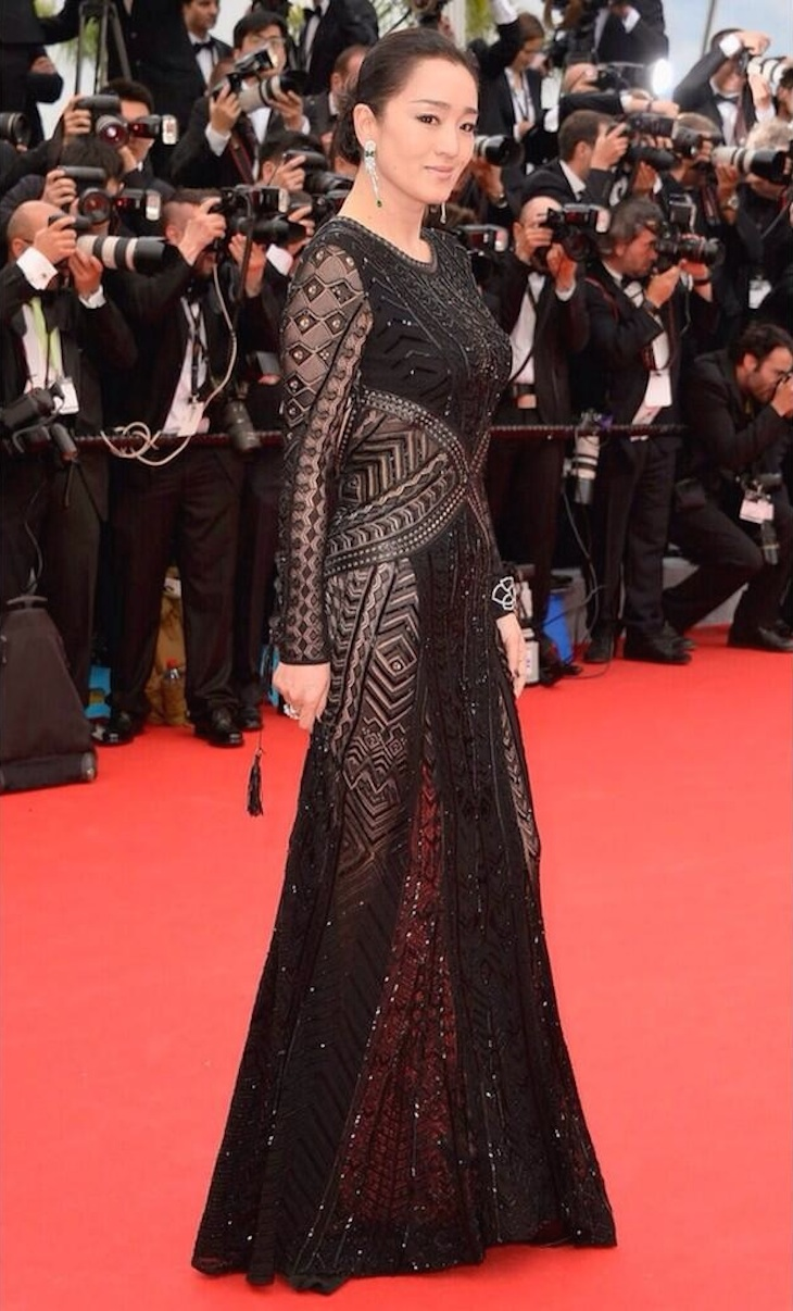 Gon Li in Roberto Cavalli - Cannes International Film Festival 2014
