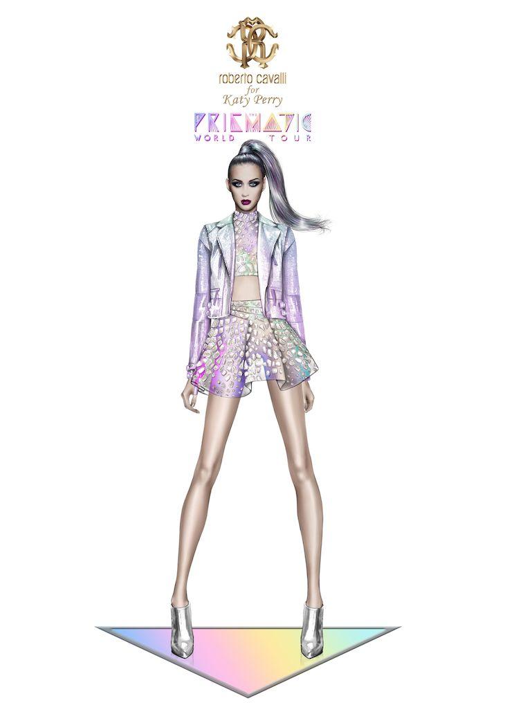 Roberto Cavalli for Katy Perry_Prismatic World Tour 2014