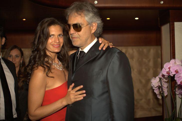 Veronica Berti,Andrea Bocelli