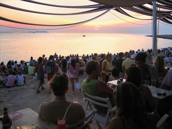 Sunset at Café del Mar, Sant Antoni de Portmany