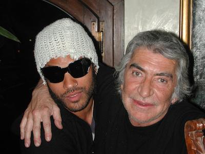 Roberto Cavalli with Lenny Kravitz